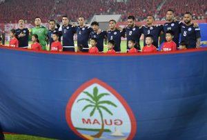 Guam Starting 11 vs China 2019